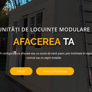 Afacerea ta: Unități de locuințe modulare